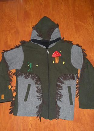 Пальто на флисе гоблин кор