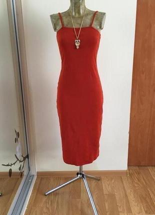 Прекрасное облегающее платье new look