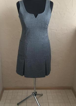 Шерстяное платье marc o'polo