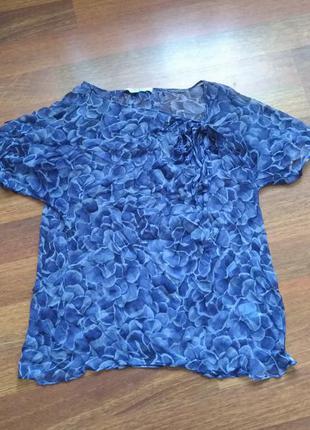 Marina rinaldi блуза шелк