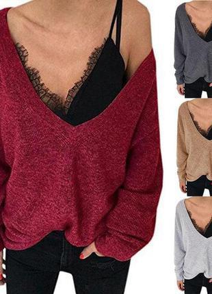 Удлиненный  свитер платье свободного кроя новый  с биркой