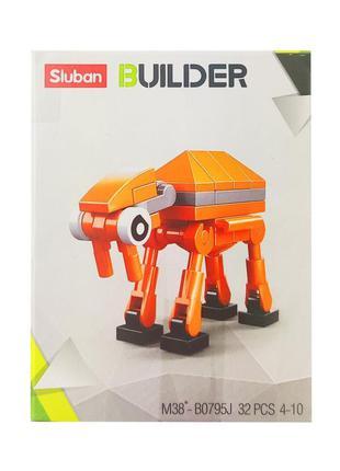 Детский конструктор транспорт sluban m38-b0795, транспорт, фигурка (m38-b0795j)