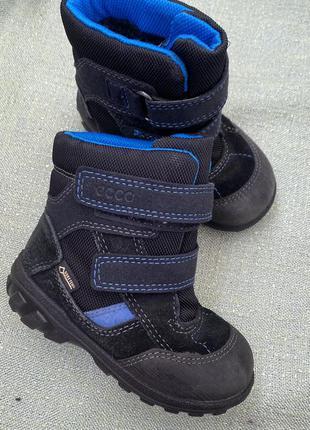 Сапоги ботинки ecco gore tex оригинал