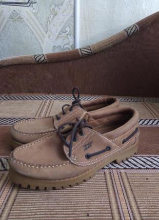 Крутые кожаные туфельки