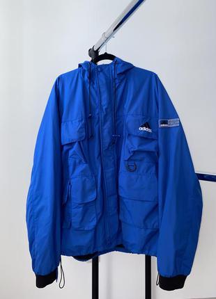 Мужская винтажная куртка adidas corporate logo line vintage nike jacket