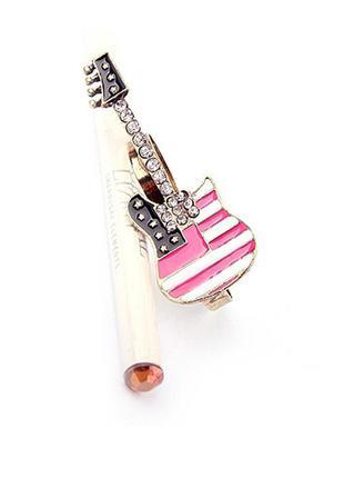 Бронзовое кольцо-кастет гитара на два пальца регулируемое