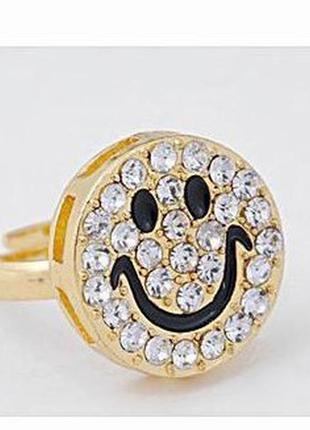 В подарок к любой покупке кольцо смайл