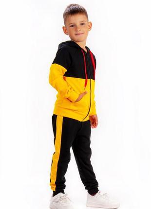 Утепленный костюм для мальчиков 98-122