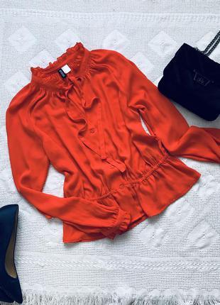 Стильная блузка от н&м