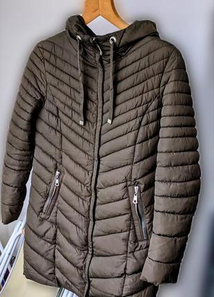 Плащ пальто осень зима хаки