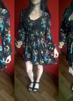 Красивое платье в стиле бохо  от south