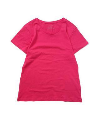 Нова котонова футболка с/м  пог 49 см  довжина 65.5  ціна 175 грн