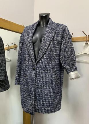 Пальто пальтишко оверсайз свободного кроя