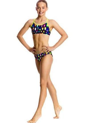 Бикини для девочек  купальник для бассейна спорта funkita