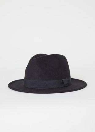 Шерстяний капелюх h&m шляпа шерсть
