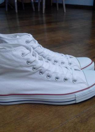 Высокие белые кеды converse (оригинал)