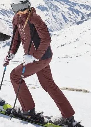 Подростковые лыжные штаны комбинезон для мальчика и девочки crivit pro