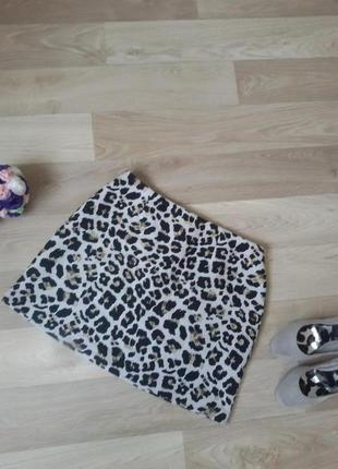 Тигровая юбка р 38-40