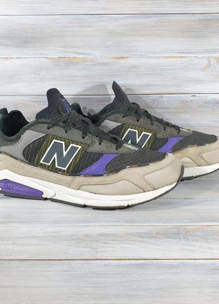 New balance msxrctrf grey/purple оригінальні кроси