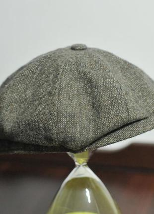 Шерстяна кепка stetson woolrich hat hatteras - 58 см