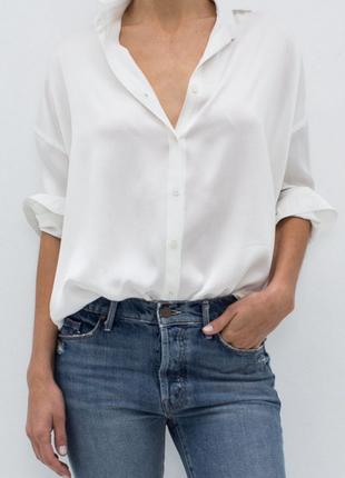 ♥базовая белая рубашка♥