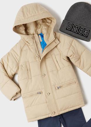 Куртка демисезонная original marines италия р. 104 на 4-5 лет парка демісезонна