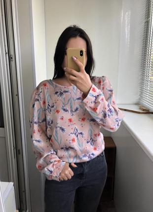 Нежная блузка блуза с рукавом