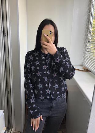 Рубашка блузка блуза 16 размер с рукавом