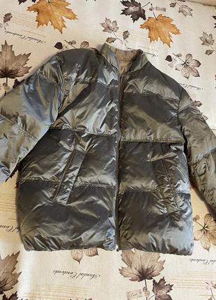Куртка бомбер massimo dutti