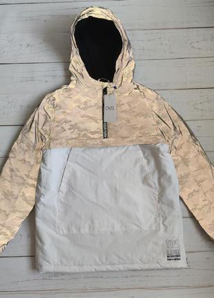 Анорак куртка рефлективная демисезонная ovs италия р. 170 на возраст 14+ светоотражающая