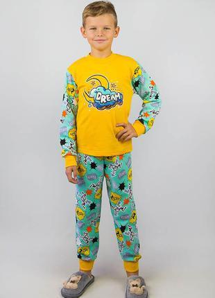 Яркая, тёплая пижама 92-134