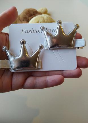 Заколка заколки для волос корона