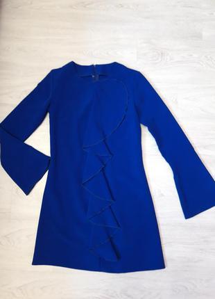 Скидки 💙 платье женское, платье электрик.