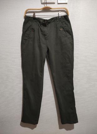 Хлопковые городские брюки штаны