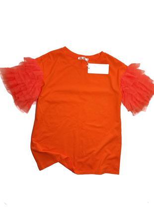 Класна нова яскрава футболка cherry koko  розмір м/л  195 грн