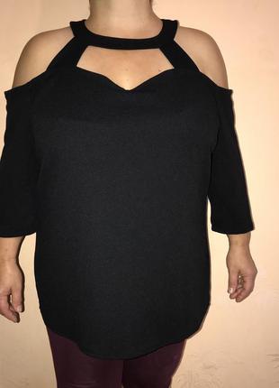 Блузка кофта водолазка рубашка футболка майка платье сарфан гольф батаь большой размер