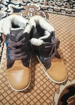 Ботинки зимние р. 30