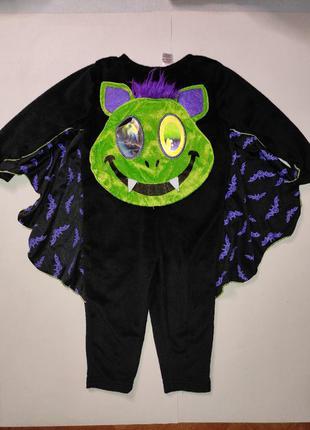 Карнавальный костюм летучая мышь хеллоуин