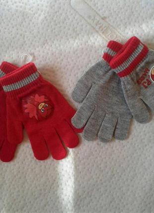 Перчатки для девочки 8-12 лет.