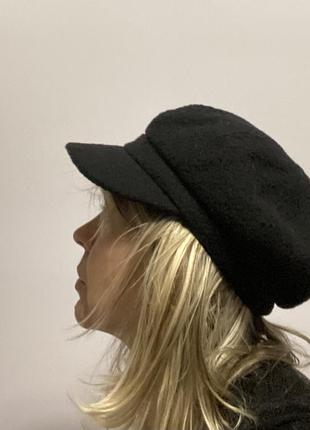 Accessorize стильная  черная  женская кепка