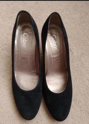 Классика натуральные замшевые туфли