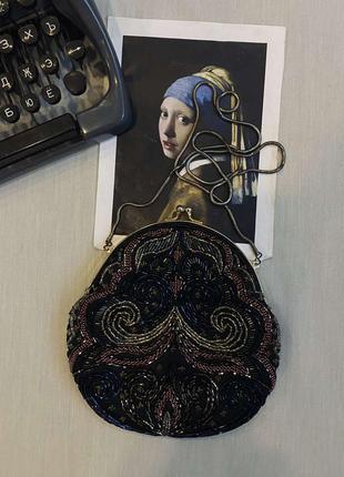 Очень красивая сумка с бисером