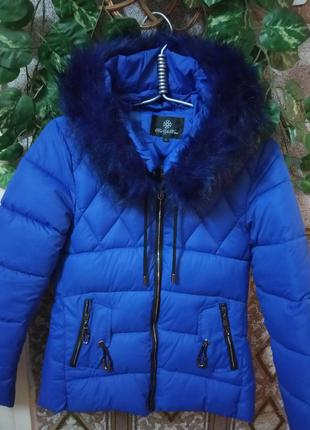 Теплая куртка холлофайбер