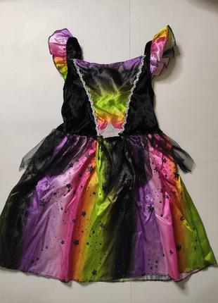 Платье карнавальное ведьмочка, ночка, звездочка