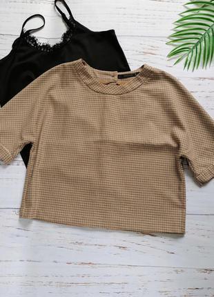 Лаконичная деловая блуза zara р. s-m