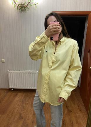Рубашка оверсайз polo by ralph lauren