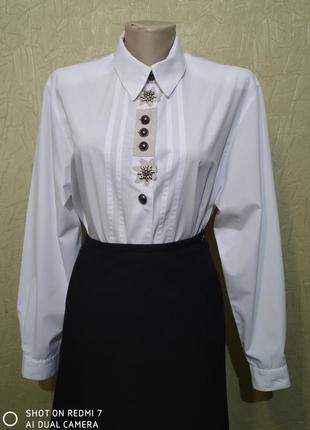 Stenau, белая рубашка, блуза с длинными рукавами, винтажная.