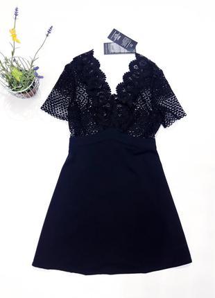 Красивое черное платье only  размер xs