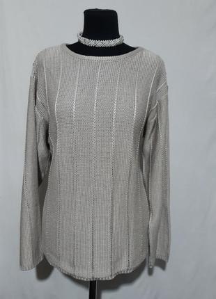 Красивенный вязаный свитер