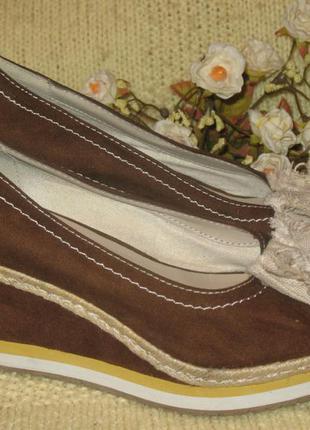 Красивые,летние туфли в морском стиле graceland